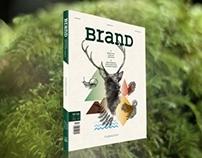 """BranD Magazine """"OrganicISM"""" Issue"""