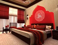 Hotel room Design (Dubai-UAE)