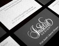 Indetail Design | Identity :: KRUSH DESIGN