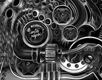 FANTASMAGORIK® CONFEDERATE MOTORCYCLE