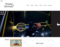 W+K Global Website Redesign