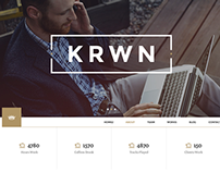 Krown || Responsive Buniess WordPress Theme