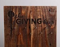 THE GIVING KEYS P.O.P. DISPLAY