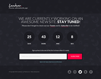 Landover - HTML5 Responsive Coming Soon Page