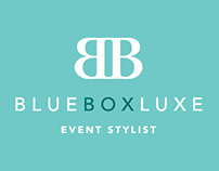 Blue Box Luxe branding and website