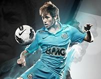 Neymar ;; Santos