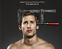 Deutscher Tierschutz Bund e.V. ad for animal rights
