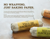 "Bakery Treiber ""No Wrapping"" (Packaging Design)"