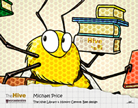 The Hive Library & History Centre: Bee design