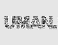 UMAN.RO Sticker Design #1
