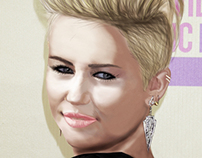 Pro Sketch For Miley Cyrus New Style