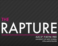 The Rapture Gig Poster