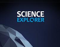 Science Explorer iPhone App concept