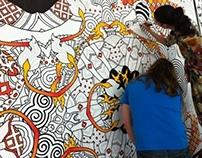 235 - the Universe Machine Mural