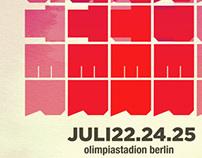 Harder Better Faster - Music Concert Poster