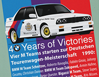 BMW E30 M3 Posters