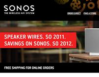 Sonos E-mail Campaigns
