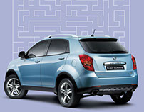 Ssang Yong GPS promotion