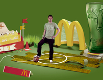 Villa's Celebration (McDonald's Spain - World Cup 2010)