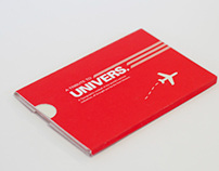 """A Typographic Tribute to the font """"Univers"""""""