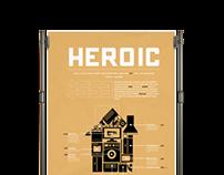 Heroic, Home energy infographic