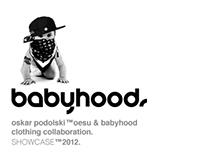 Oskar Podolski ™ Oesu.  X  BabyHood Clothing.