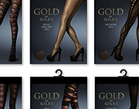 GOLD BY GILES Hosiery Collection AW12