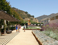 Fran and Ray Stark Sculpture Garden