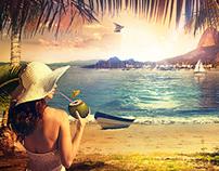 Beach - Photo manipulation
