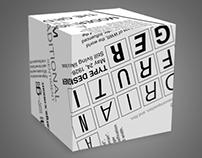 Typographic Cube