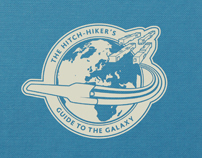 The Hitch-Hiker's Guide To The Galaxy Book Covers