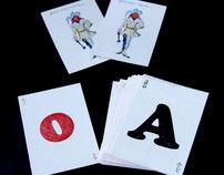 Hamilton Wood Type Cards