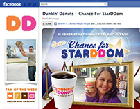 Dunkin Donuts - National Coffee Day / Facebook App