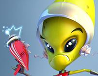 Alien pinup