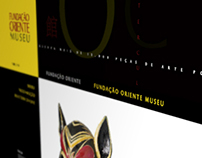 Website proposal for the East Museum ft P-06 atelier