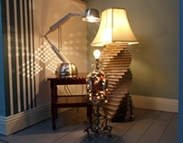 Recycled Lamp Collection