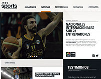 Prosports Web Site