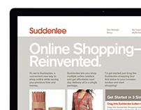Suddenlee Shopping Website