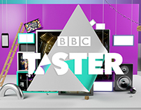BBC Taster Video - Style Frames & CGI sets