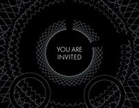 MONTBLANC+WIRED EVENT INVITATION