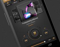 The Golden - Music Player App