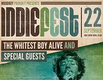 Indie Fest Poster PSD (Hi-Res)