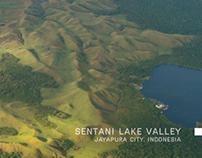 Panorama of Jayapura, Papua