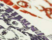 Typographic Portrait - The Beatles