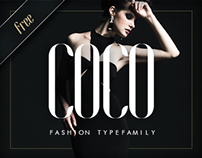 COCO - Free Fashion Typefamily