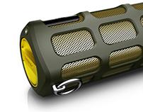 Virtual photography - Philips SB7200 wireless speaker