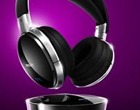 Virtual photography - Philips SHD8900 headphones