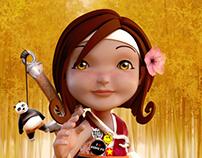 Little kung fu girl