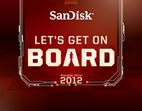 "SANDISK ""LET'S GET ON BOARD"" CAMPAIGN CHINA"