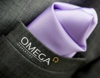 Omega branding